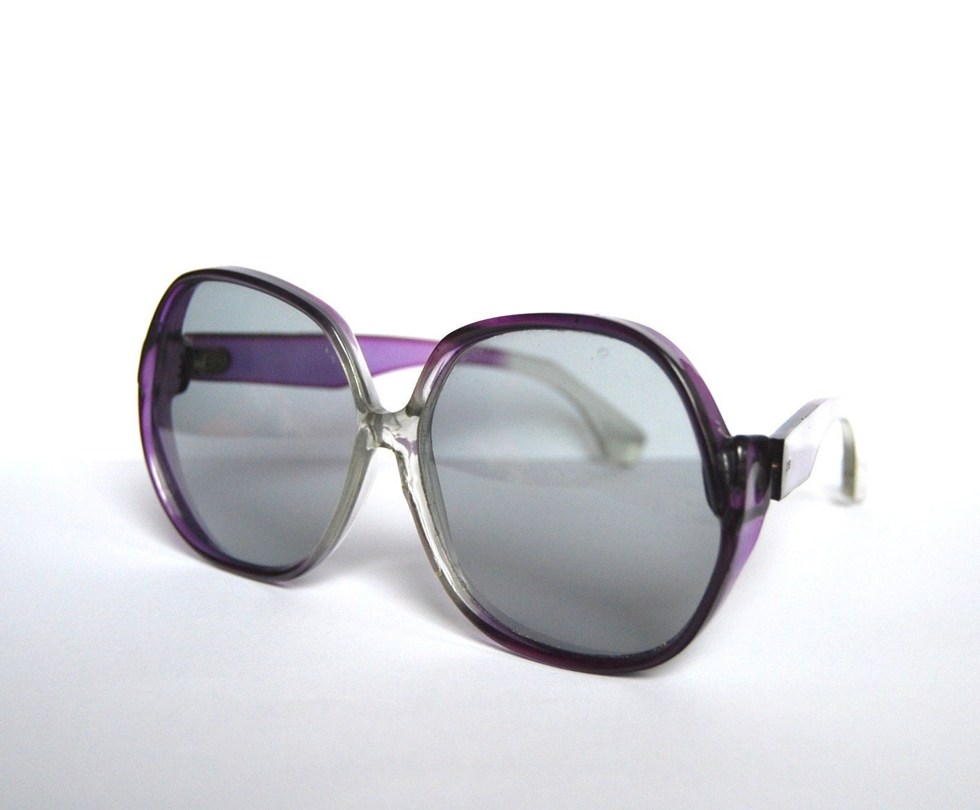 Vintage purple sunglasses Germany over sized by RetroEyewear from etsy.com
