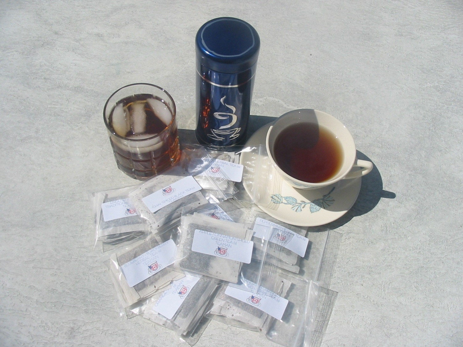 Iced Tea Lover's Sampler 15 Great Flavors 5 bags of each 75 teabags in all