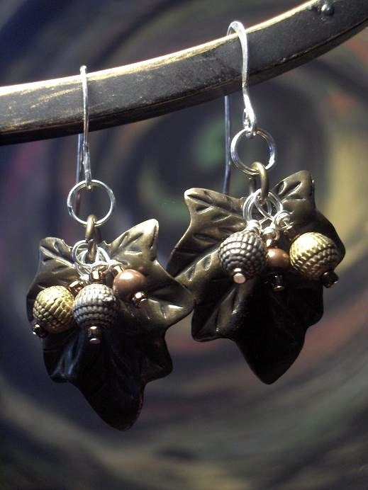 Luscious Leaves Earrings