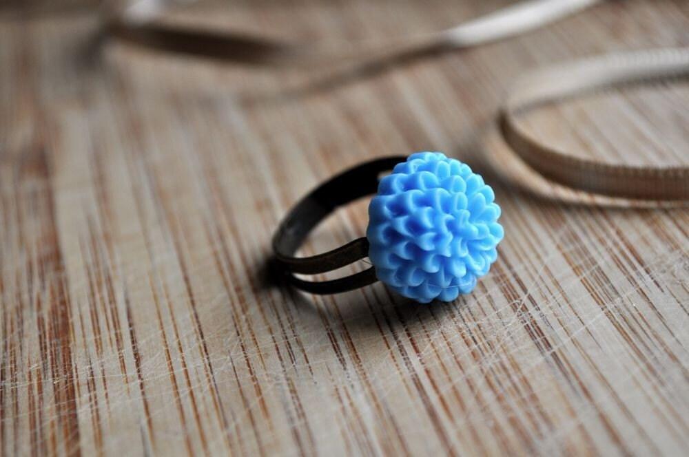 baby blue mum- spring ring