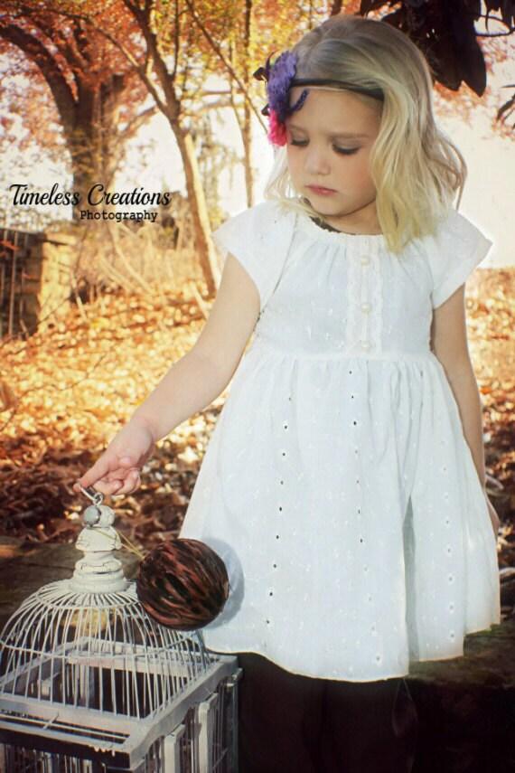 Heirloom Eyelet Peasant Tunic - GirliePearlie3