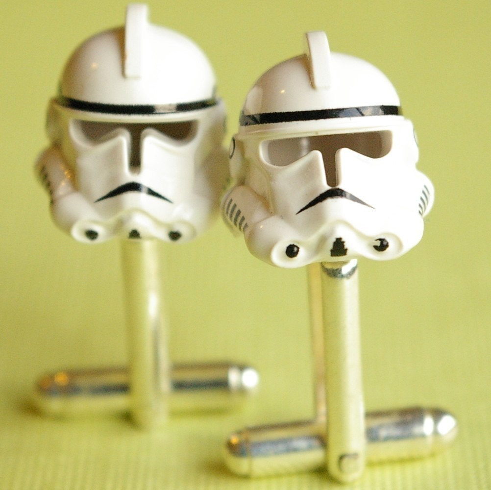 Lego Star Wars Clonetrooper Cufflinks