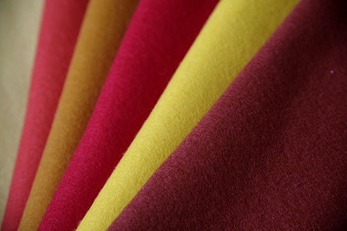 100 Percent Wool Felt - Available for Special Order