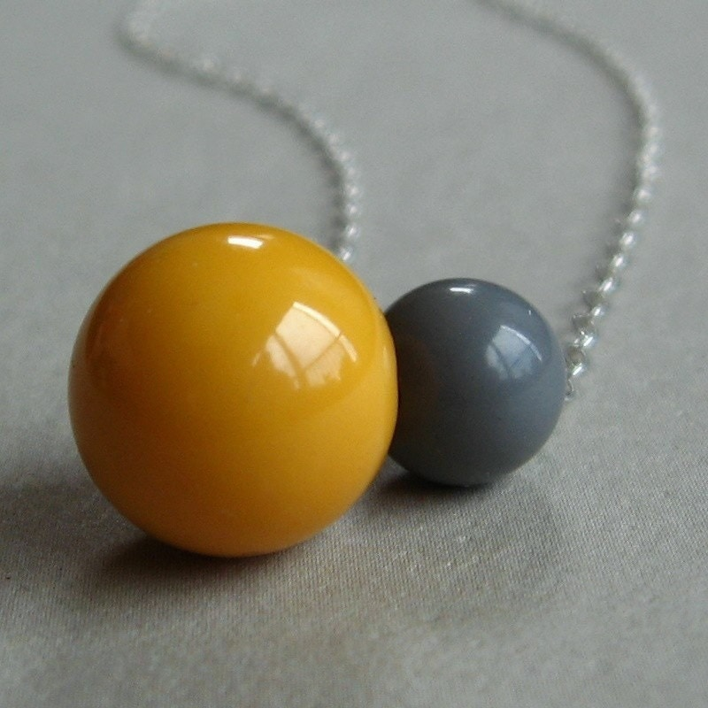 Gumballs, Bakelite Necklace