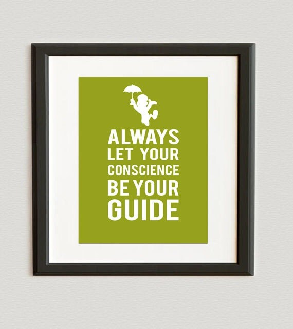 Jiminy Cricket Sayings You choose color- always let your conscience be ...
