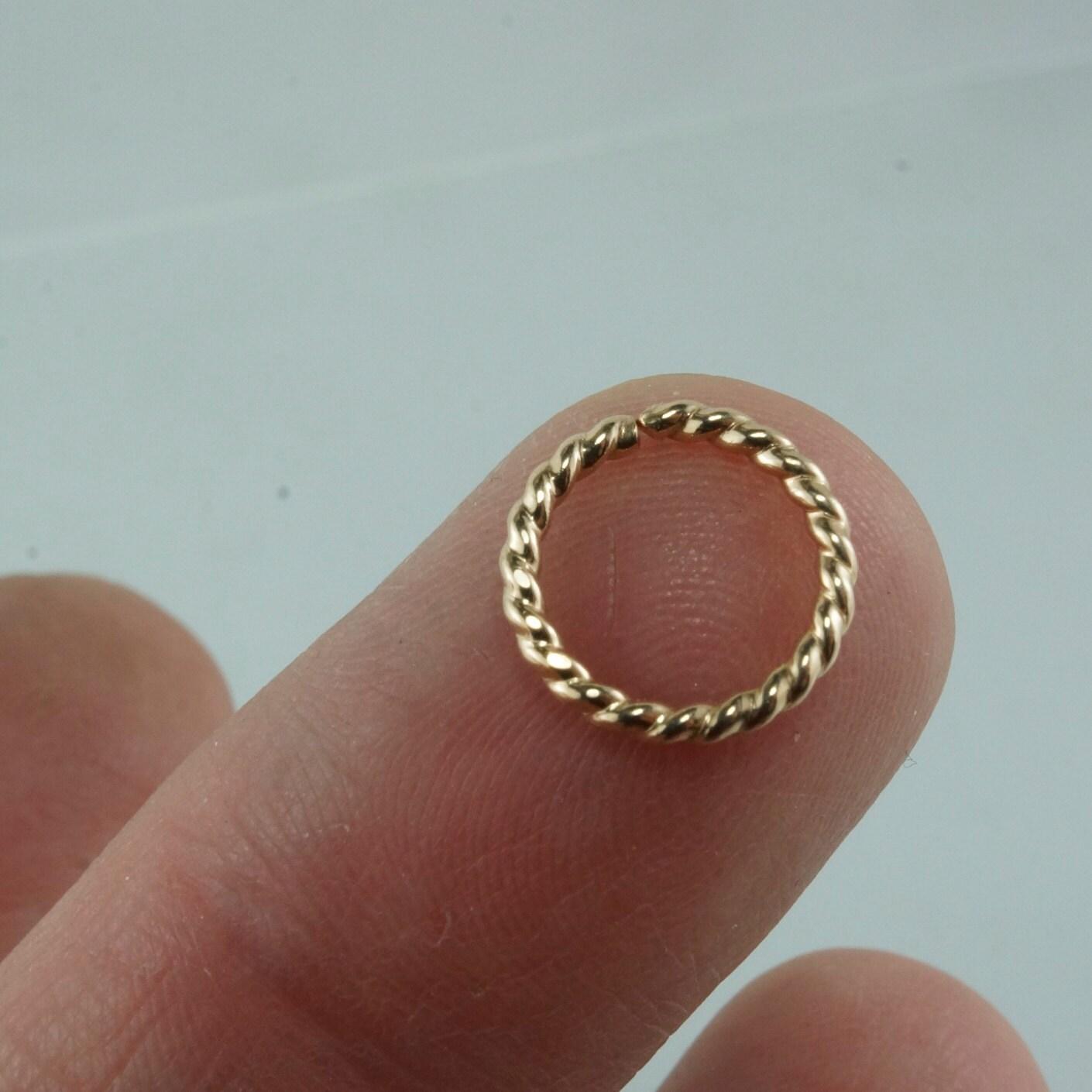 16 cartilage ring 14 kt gold filled by