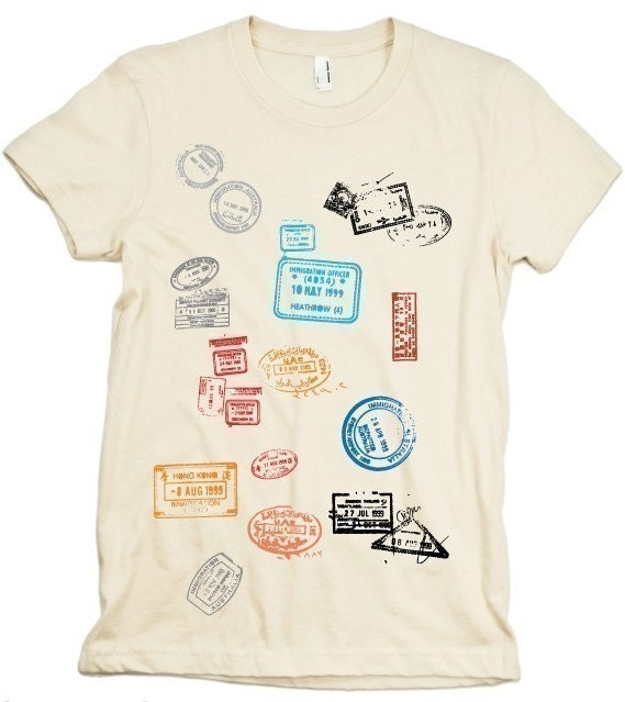 Unavailable listing on etsy for Stamp t shirt printing