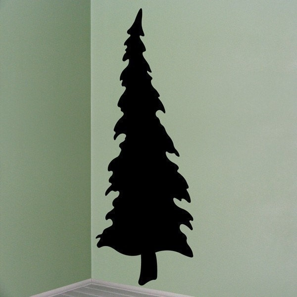 Lone Pine Tree  Vinyl Decal 5'