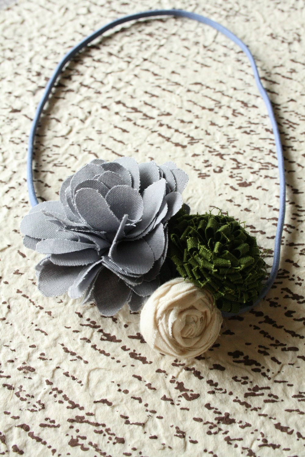 Adult Flower Headband, simple and beautiful, You Choose Colors
