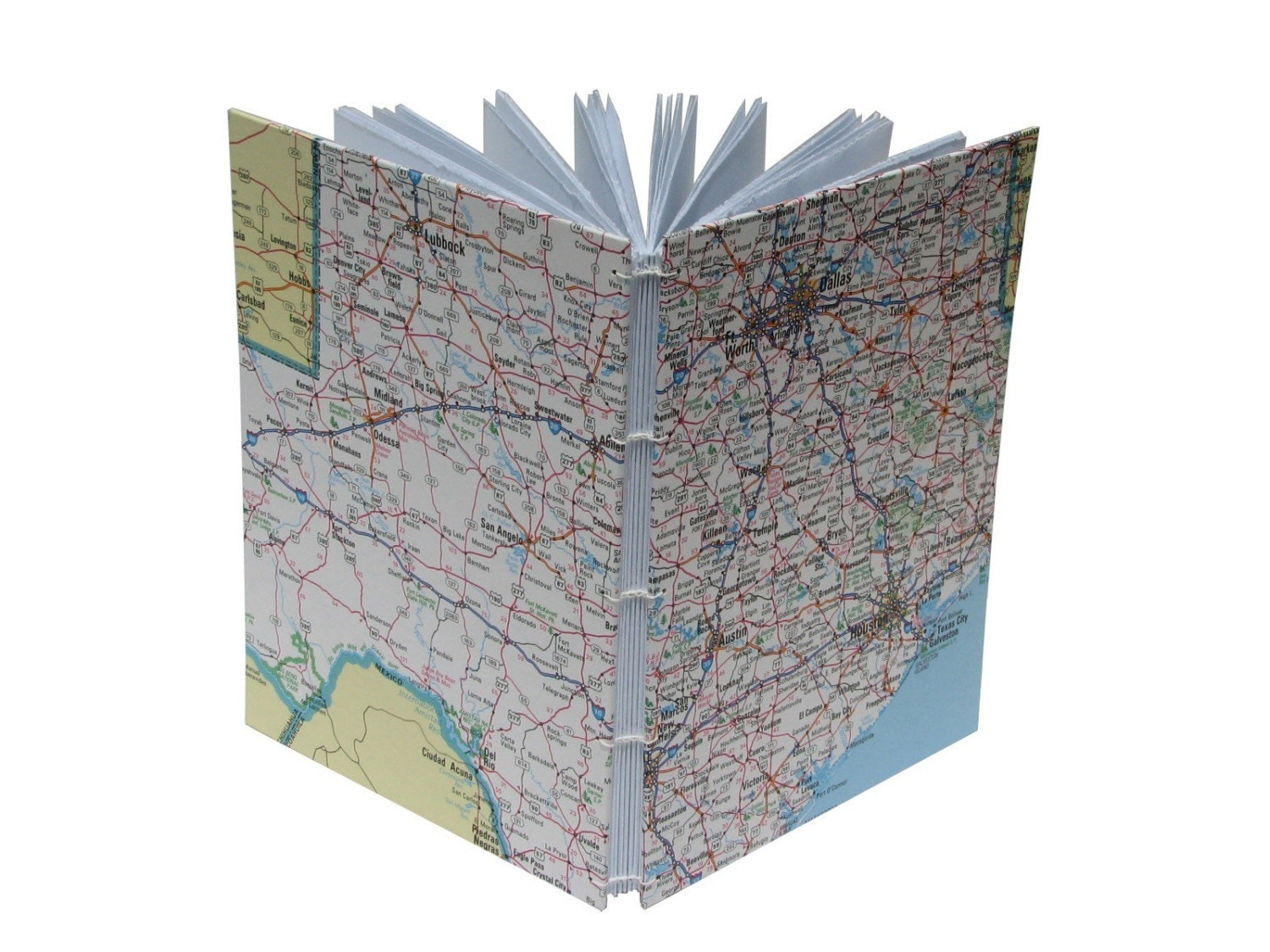 Handbound Notebook - Maps