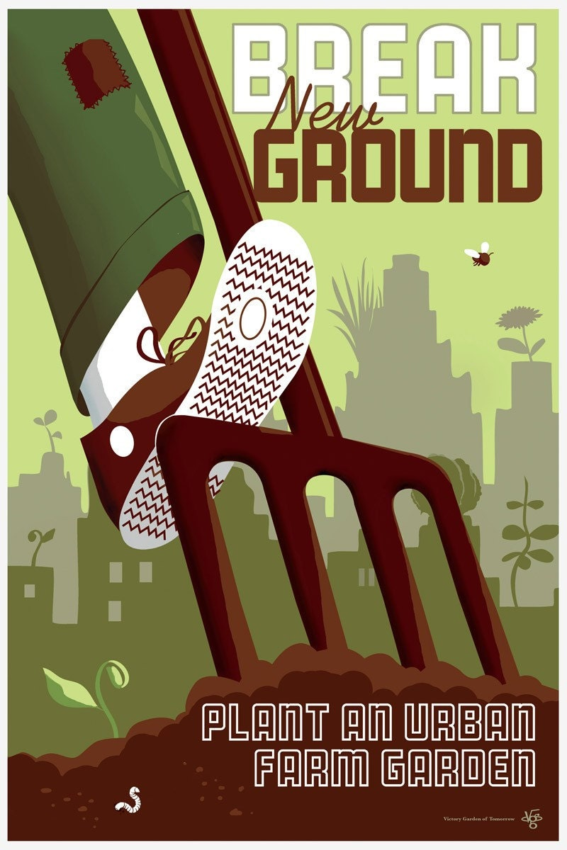 Break New Ground poster art