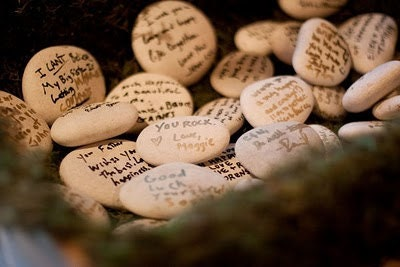 Guest Book Stones 60 count