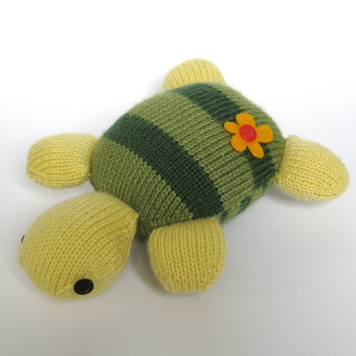 Knitted Turtle Pattern : Topsy Turvy Turtle toy animal knitting pattern by fluffandfuzz Craftjuice H...