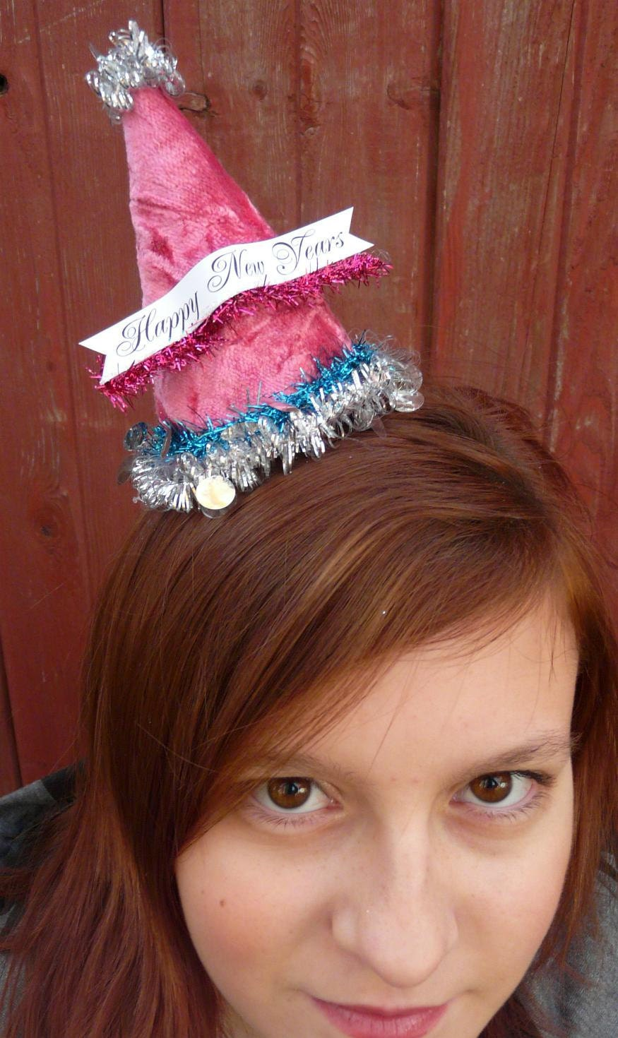 Fascinator Party Hats with Banners E Pattern - Halloween Christmas easy quick sewing all holidays primitive pdf