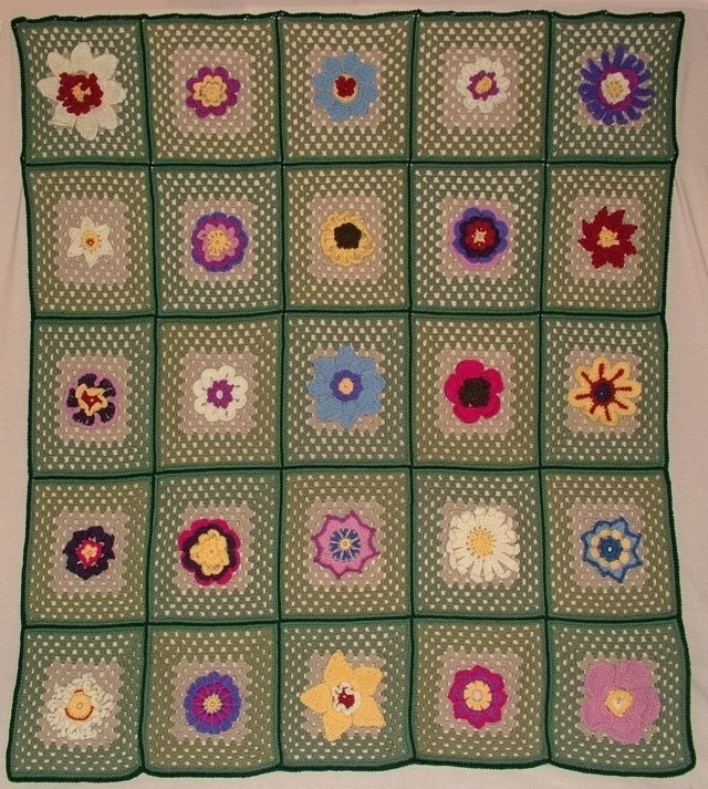 Free Crochet Patterns - My Crochet Site - FREE afghan and square