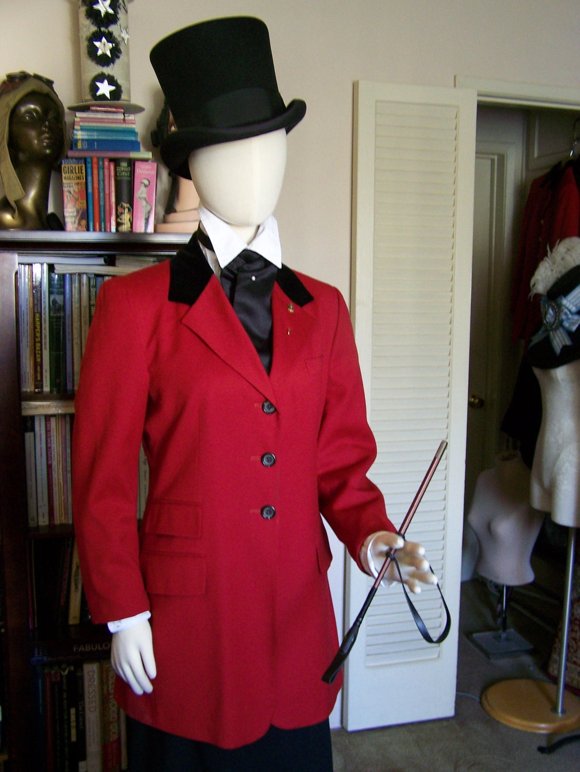 Edwardian Hunting Outfit Riding Habit Size 8 Medium/Large- Downton Abbey, Titanic, Victorian - finnmoxa