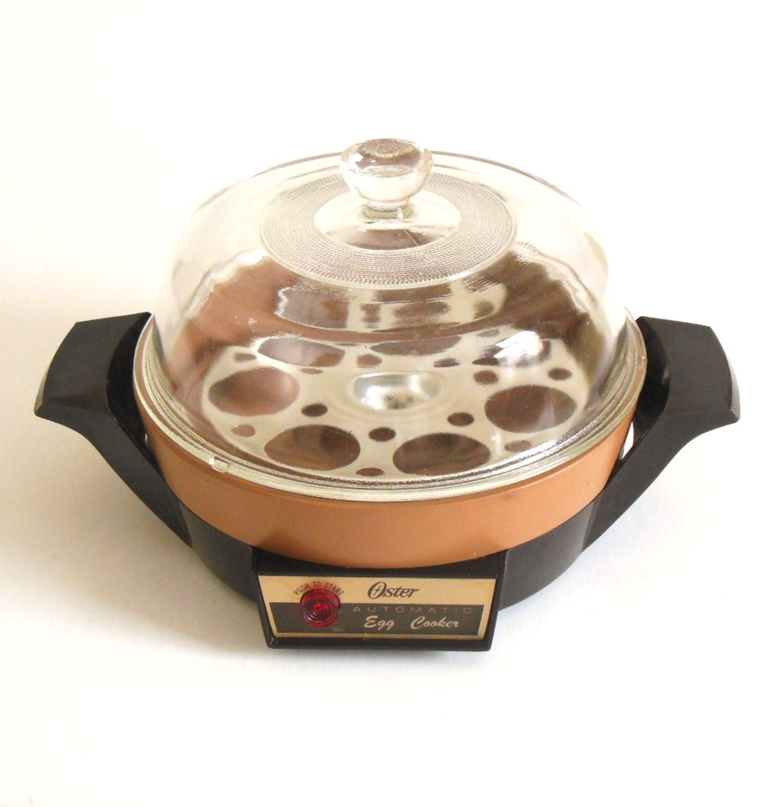 Glass Dome Cooker ~ Oster egg cooker poacher b no by