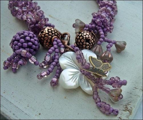 Summer Memories - beadwoven bracelet