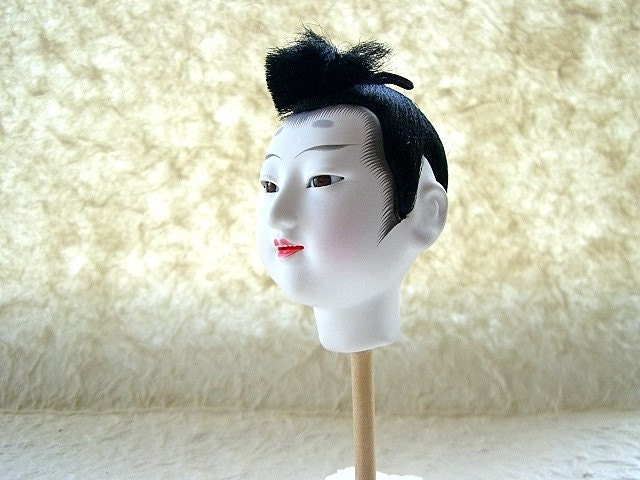 Japanese  Doll Head Hina Matsuri Boy