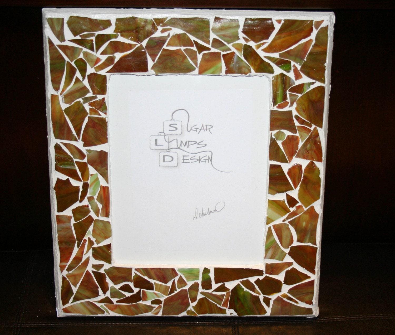 Minty Mocha Mosaic Frame