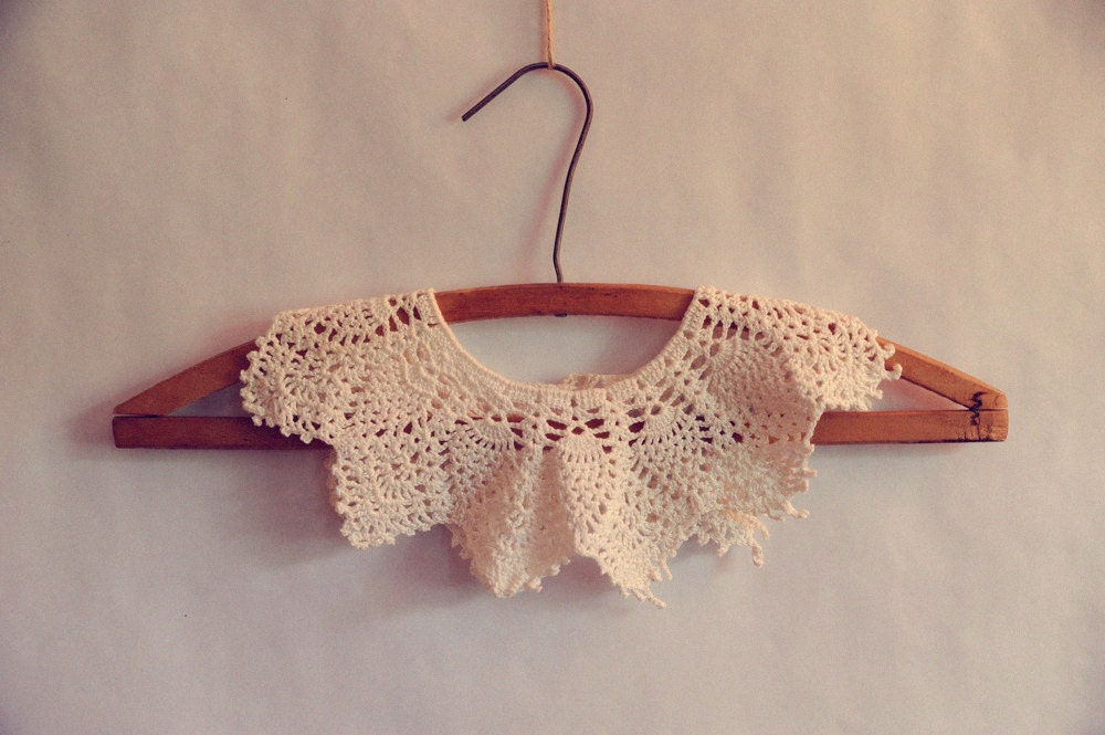 Collar Lace doce Crochet