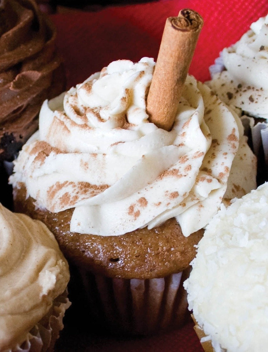 Organic  and Vegan Chai Cupcake Mix