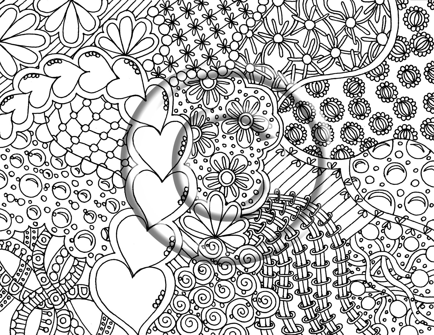 peace and love coloring pages - para colorear peace and love coloring pages com portal