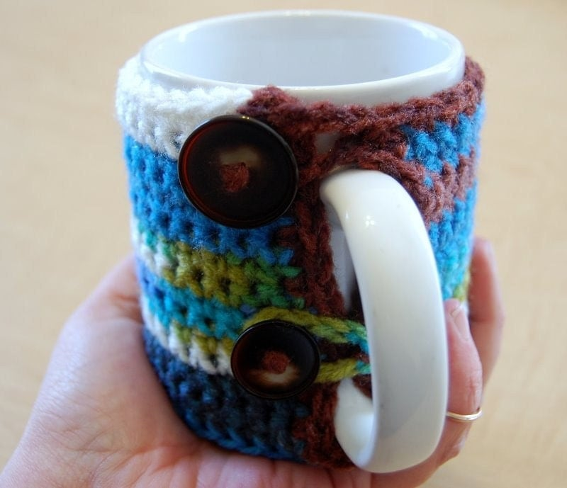 Grab Your  Mug Cozy - In Eclectic