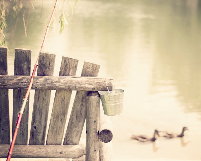 Gone Fishin' - 16x20 Fine Art Photography Print