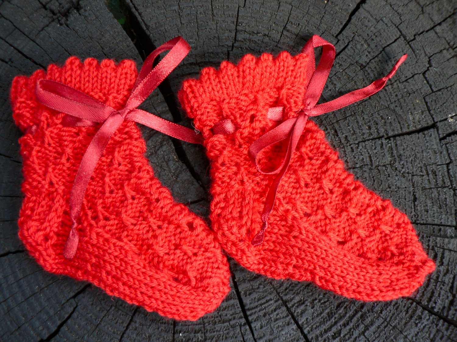 Baby socks red