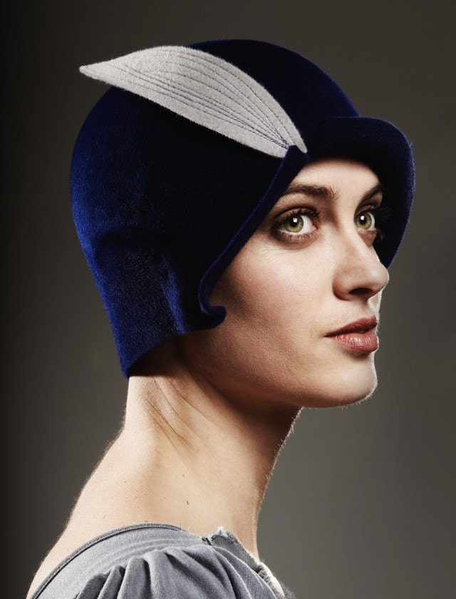 Royal Blue Cloche