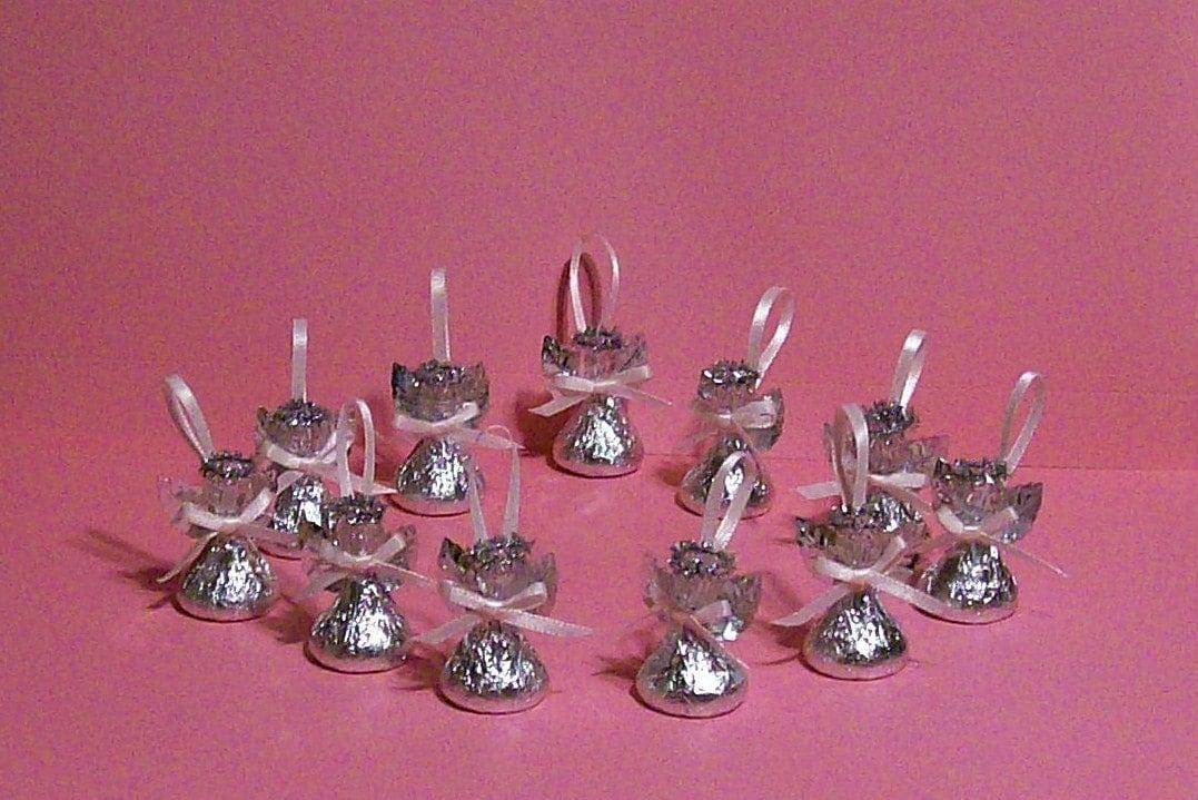 Hershey kiss angels handmade in pennsylvania set of