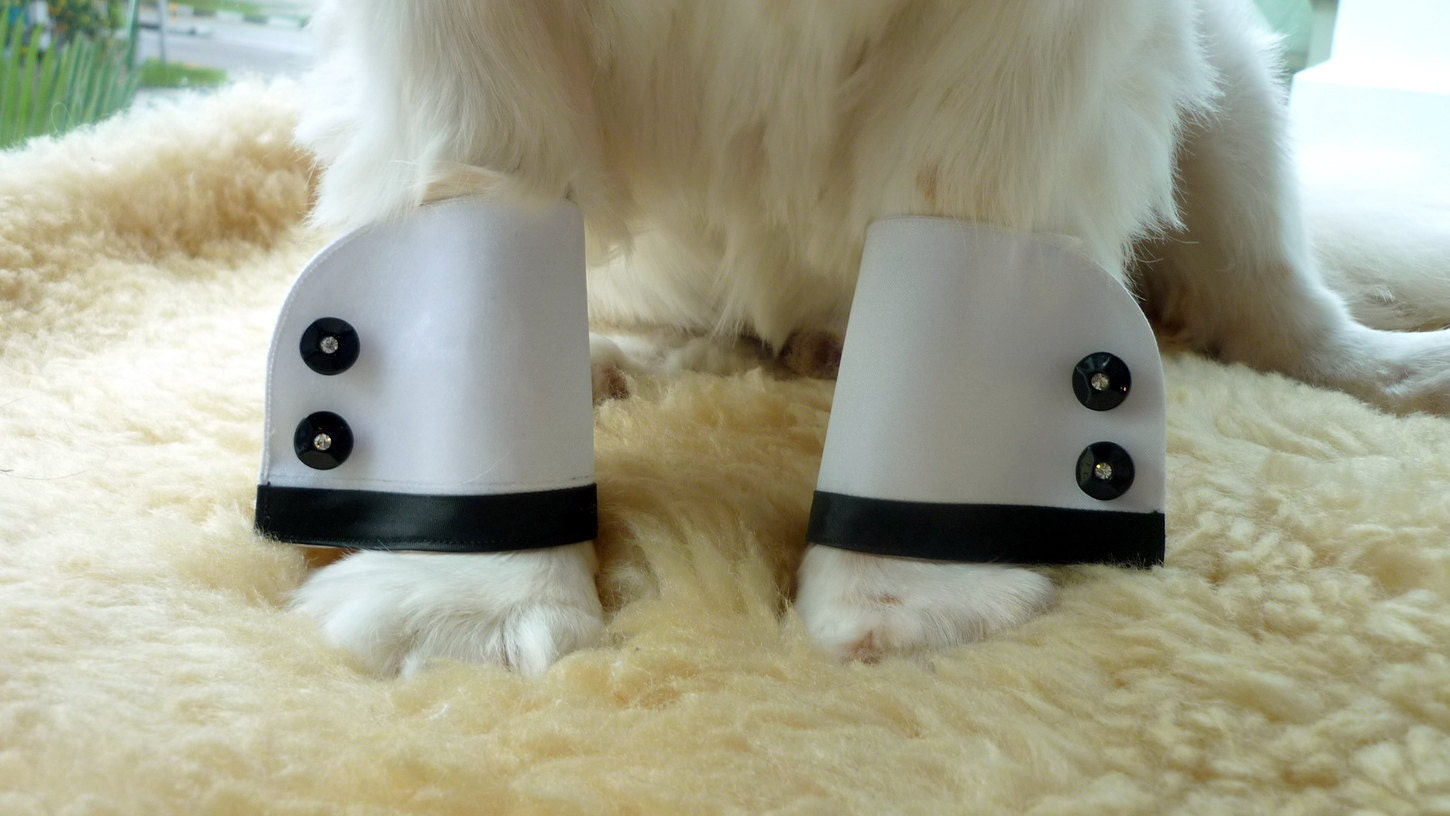 Custom Made Tuxedo Cuffs for Dogs or Cats
