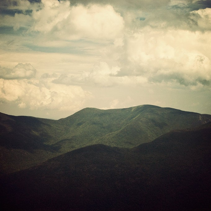 Landscape photograph - Tell it on the mountain - Clouds, Green, Spring, Hiking, Nature photography - EyePoetryPhotography