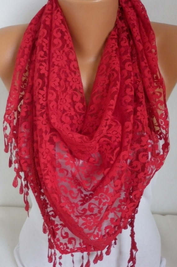 on sale lace scarf shawl scarf scarves cowl by anils