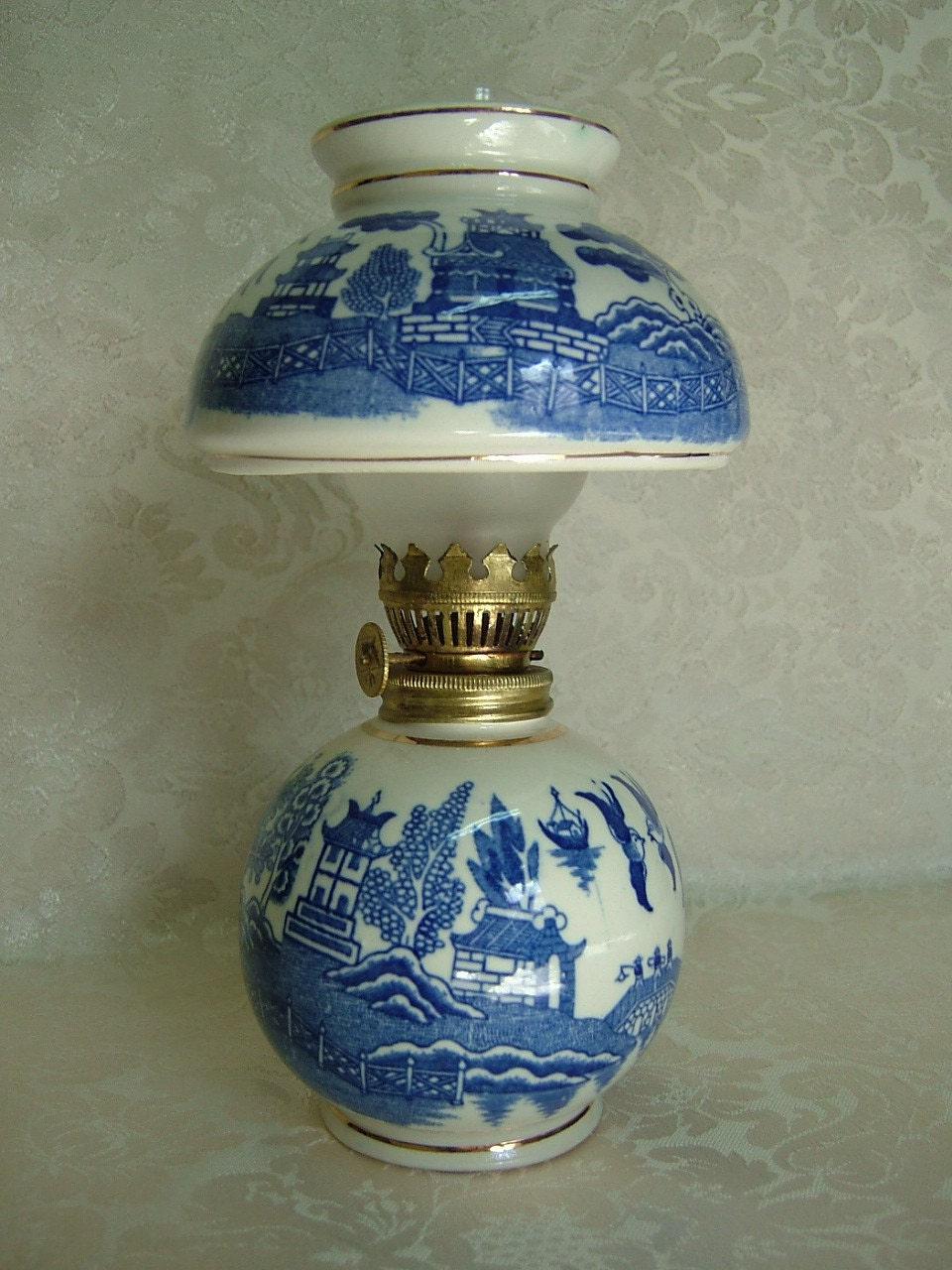 Milk Glass Lamp Shade