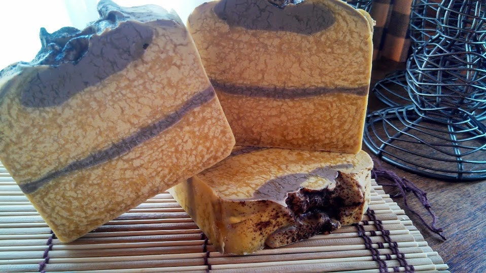 Rustic Pumpkin Soap (Vegan) - spottedcowsoaps