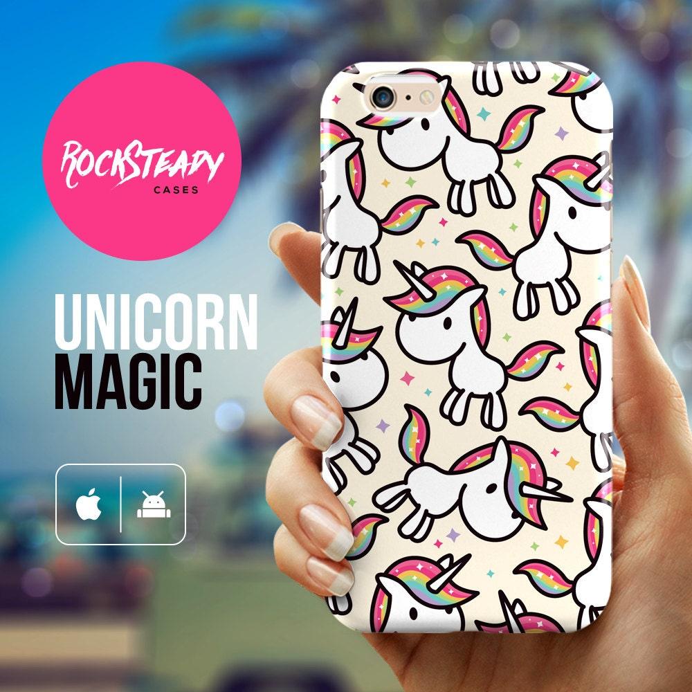 Unicorn Phone case  iPhone 7 case iPhone 6s Plus case Samsung Galaxy S6 case iPhone 5s Case iPhone 6 case cute unicorn case