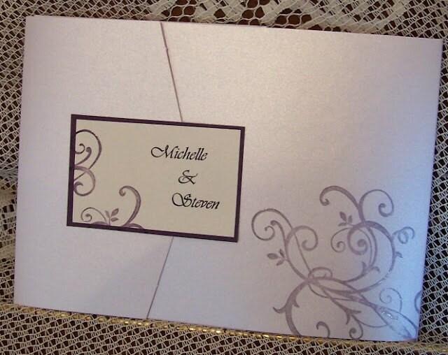 Custom Design for Wedding Invitations