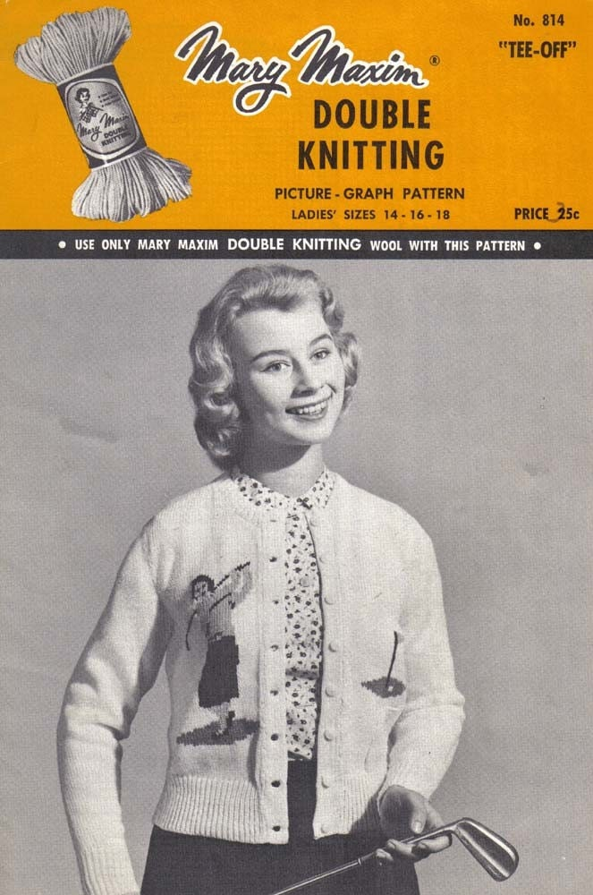 Blue Betty: Vintage Finds: Knitting