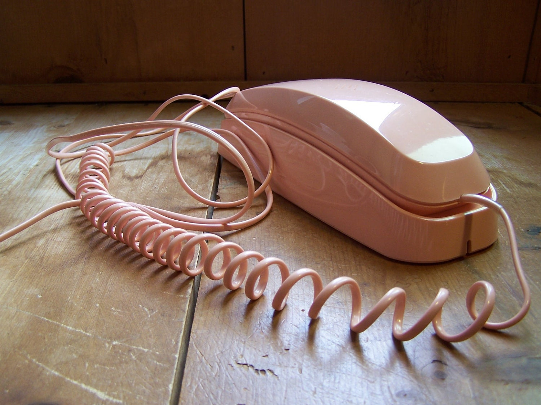 vintage telephone conair pink princess phone by thehomegnome Conair Trimline Phone Conair Wall Phone
