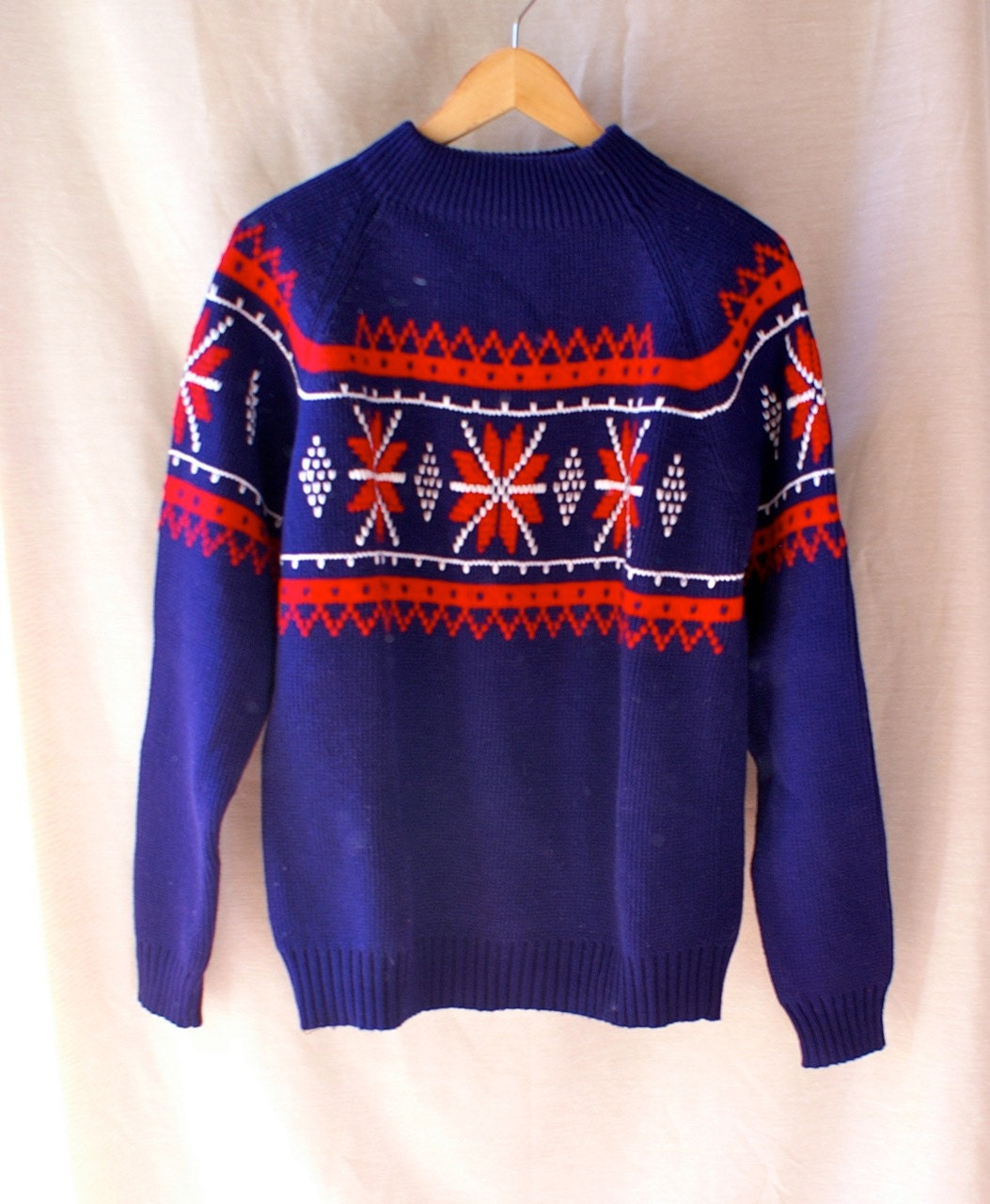 classic ugly christmas sweater vintage jcpenney by seedwingwonder. Black Bedroom Furniture Sets. Home Design Ideas