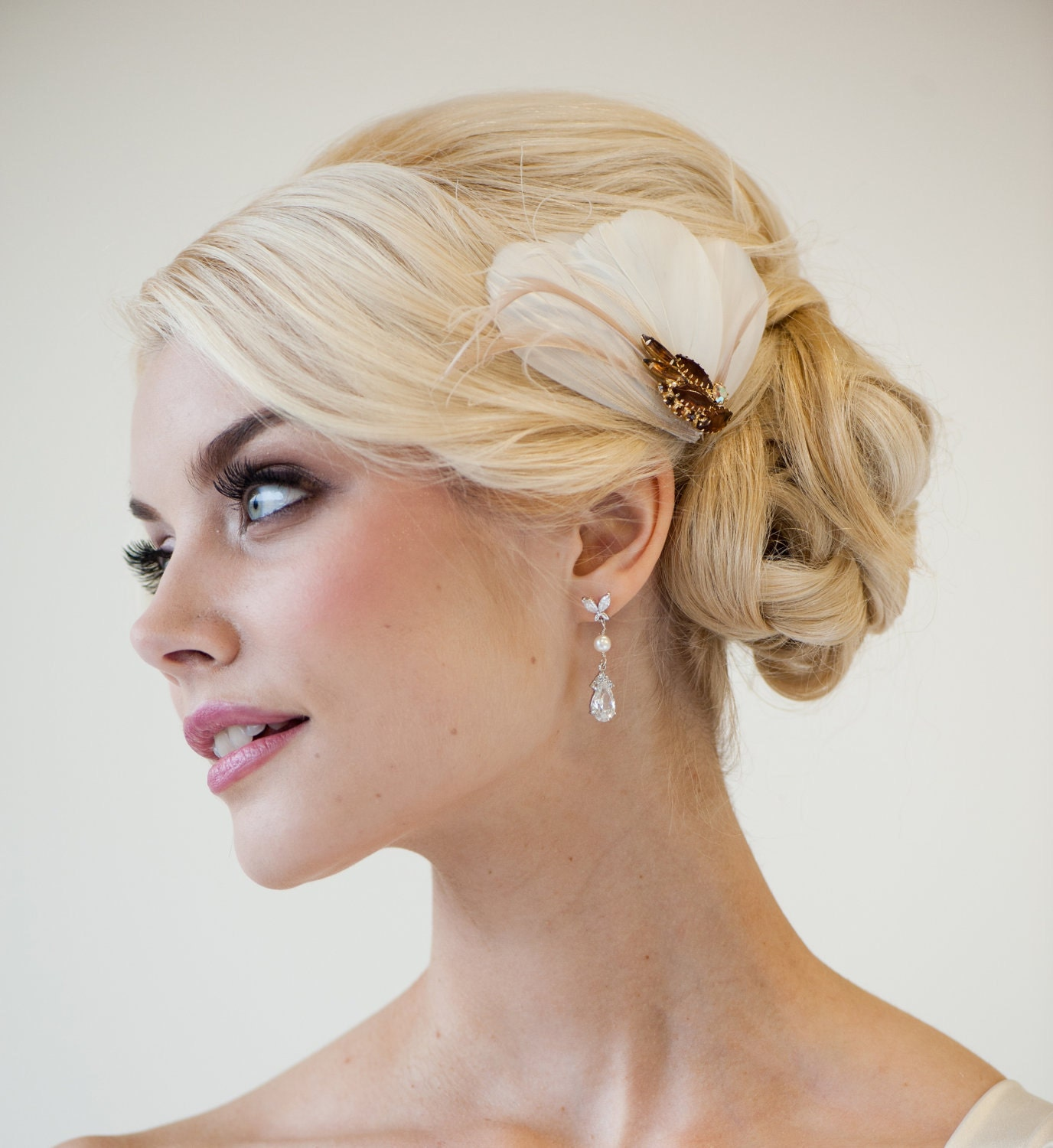Wedding Guest Hairstyles With Fascinator | Vizitmir.com