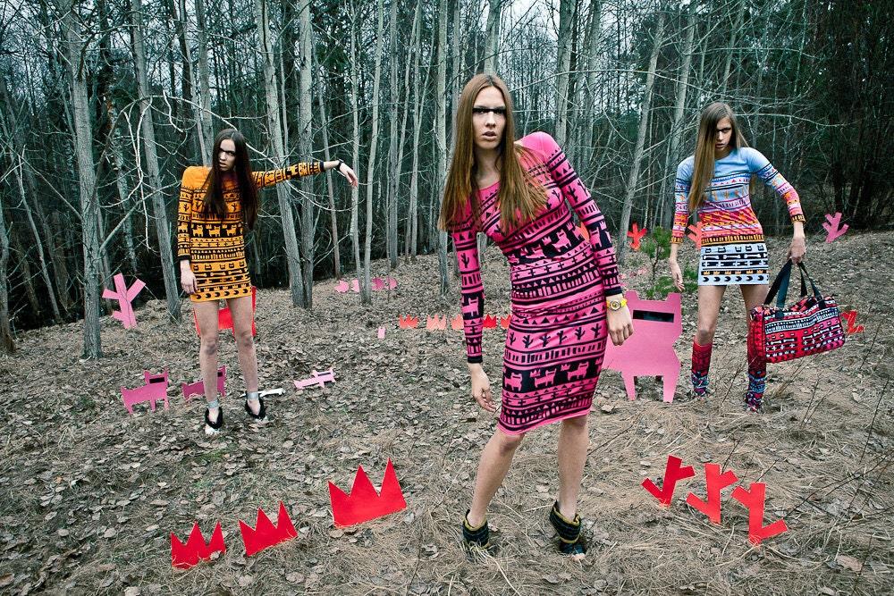 SALE Pink Tribe dress