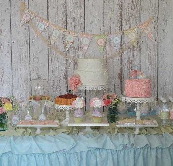 Shabby Chic Butterfly Garden Tea party by StyleMeShabbyChic