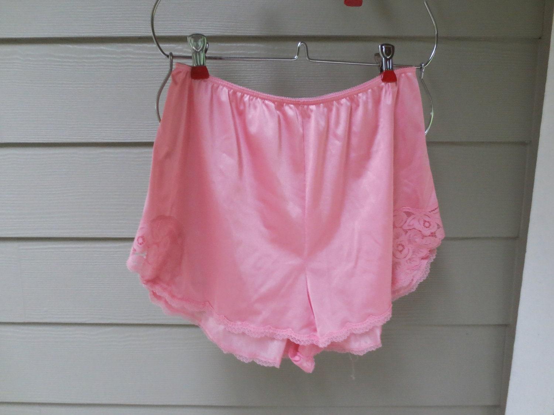 Vintage PINK Nylon Panties Tap Panties Underwear Vanity Fair Pin UP ...