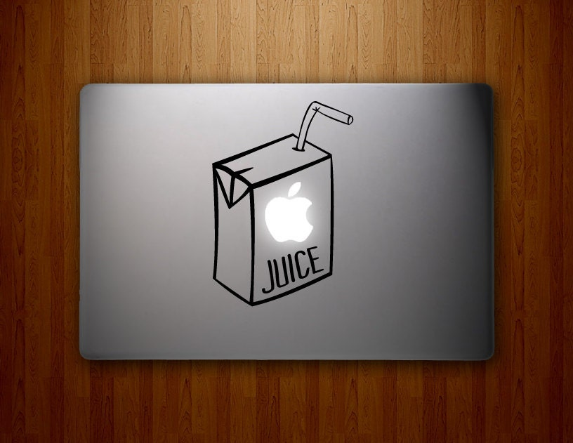 Apple Juice - Macbook Vinyl Decal