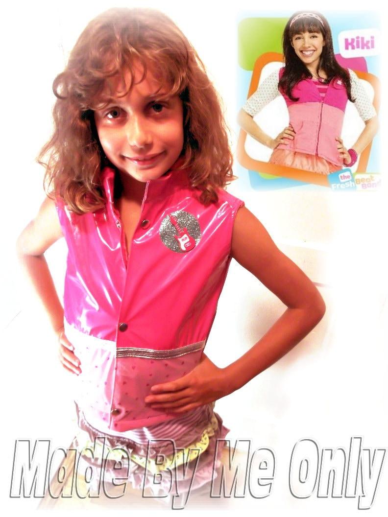 fresh beat band rock star kiki inspired pink vest by