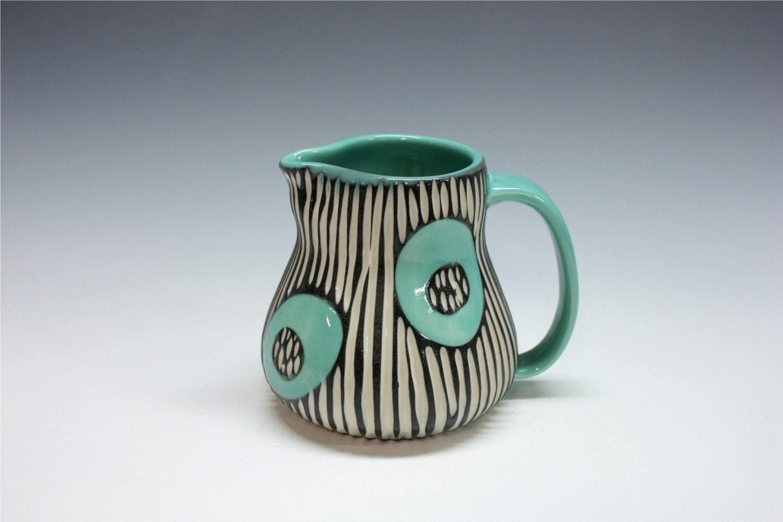 Mod  Spot Porcelain Creamer pitcher