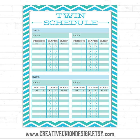 popular items for baby schedule on etsy
